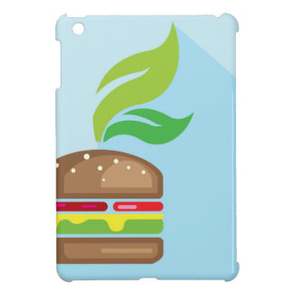 Veggie Burger Vector Art iPad Mini Cases