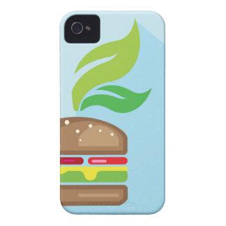 Veggie Burger Vector Art iPhone 4 Case