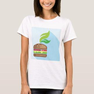 Veggie Burger Vector Art T-Shirt