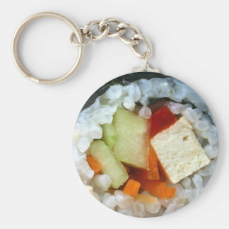 Veggie California Roll Gifts Tee Cards & More Keychain