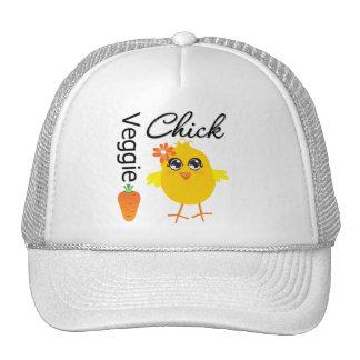 Veggie Chick Trucker Hat