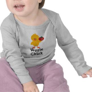 Veggie Chick Infant Long Sleeve Tee