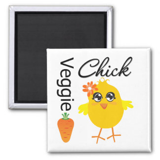 Veggie Chick Magnets