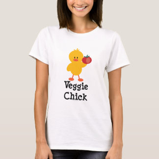 Veggie Chick T shirt