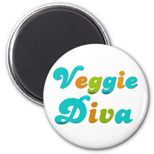 Veggie Diva Magnets