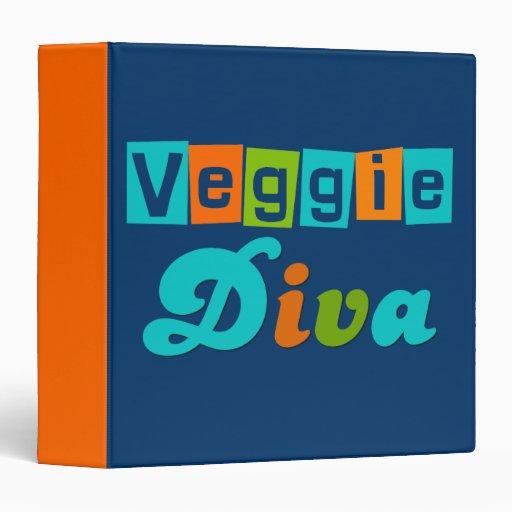 Veggie Diva Recipe Book Binders