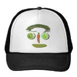 Veggie Face Mesh Hats