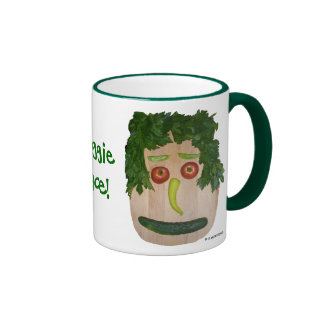 Veggie Face Ringer Mug