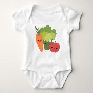 Veggie Friends Baby Bodysuit