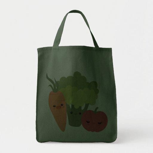 Veggie Friends Canvas Bags