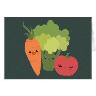 Veggie Friends Card