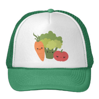 Veggie Friends Trucker Hat