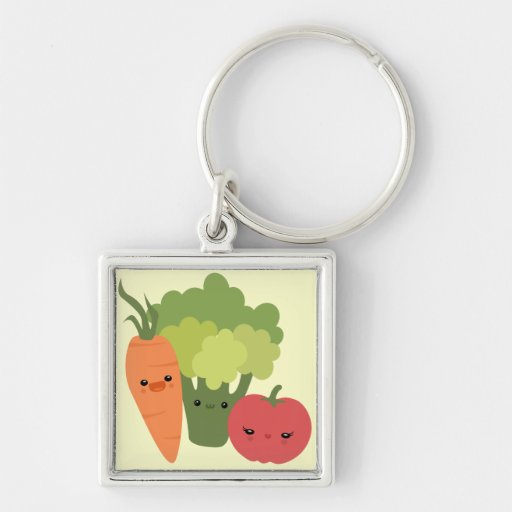 Veggie Friends Key Chains