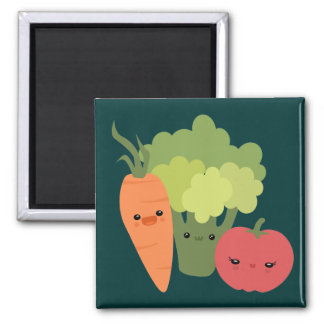 Veggie Friends Magnet