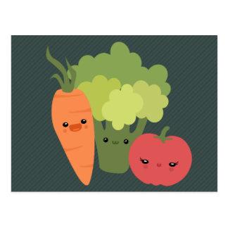 Veggie Friends Postcard
