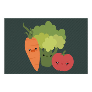 Veggie Friends Print
