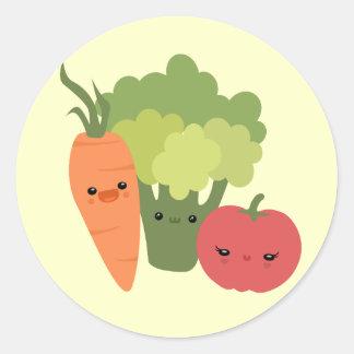 Veggie Friends Sticker
