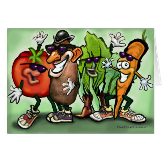 Veggie Gang Card