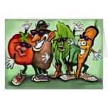 Veggie Gang Greeting Card