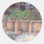 Veggie Garden Classic Round Sticker