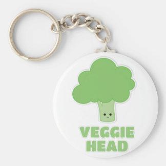 Veggie Head Keychain