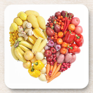 Veggie Heart Coaster