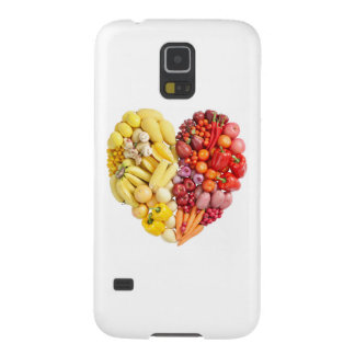 Veggie Heart Galaxy S5 Cover