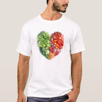 Veggie Heart T-Shirt