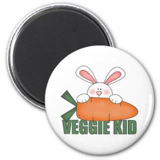 Veggie Kid Rabbit Magnet