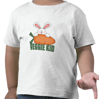 Veggie Kid Rabbit Toddler T-Shirt