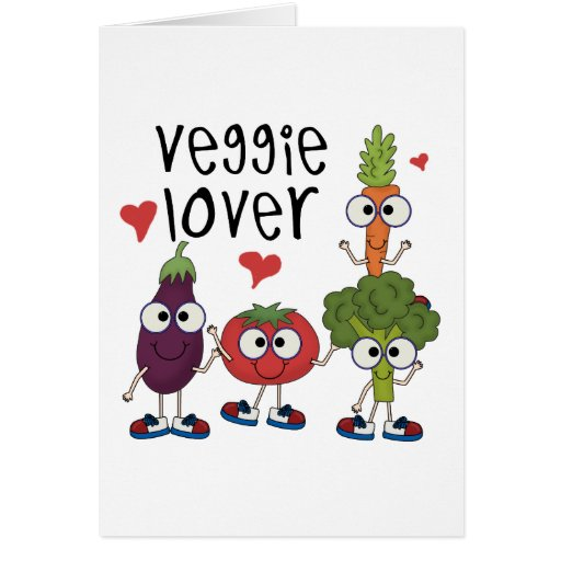Veggie Lover Greeting Card