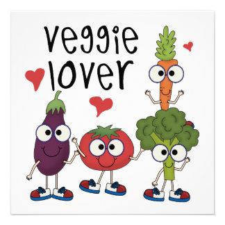 Veggie Lover Personalized Invite