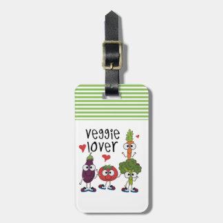 Veggie Lover Bag Tags