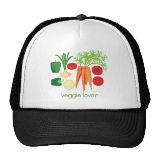 Veggie Lover Mixed fresh Vegetables Trucker Hat