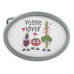 Veggie Lover Oval Belt Buckles