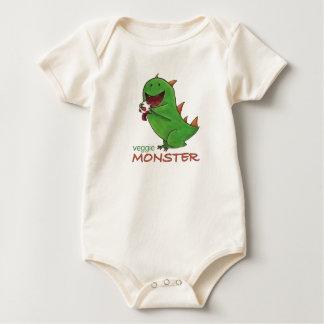 Veggie Monster Baby Bodysuit