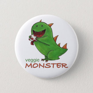 Veggie Monster Button