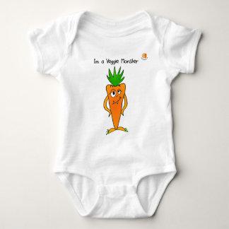 Veggie Monster Infant Creeper/Bodysuit T Shirt