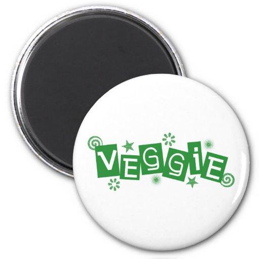 Veggie, para los vegetarianos y el imán de los veg