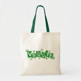 Veggie, para los vegetarianos y la bolsa de asas d