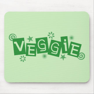 Veggie, para los vegetarianos y los veganos Mousep Tapetes De Raton