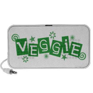 Veggie, para los vegetarianos y los veganos portátil altavoz