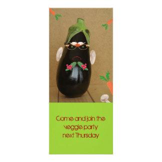 veggie party custom announcements