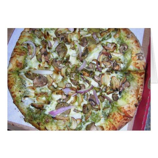 Veggie Pizza Card