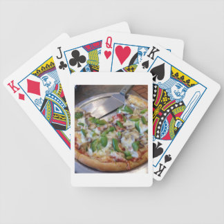 Veggie Pizza Slices Bicycle Playing Cards