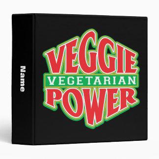 Veggie Power 3 Ring Binders