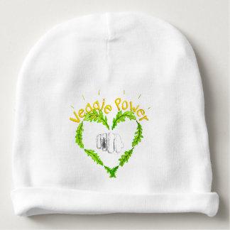 Veggie Power baby Cotton Beanie