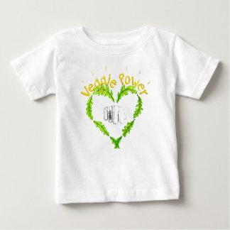 Veggie Power baby delicate Jersey T-Shirt