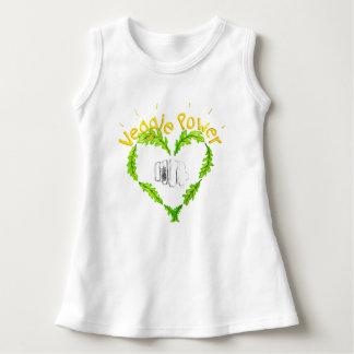 Veggie Power baby Sleeveless Dress