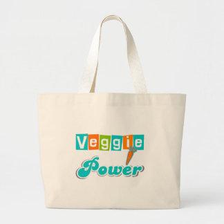 Veggie Power Tote Bags